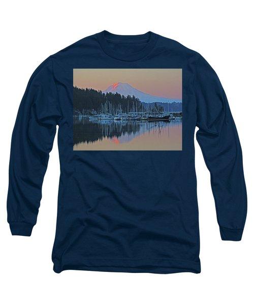 Dawn At Gig Harbor Long Sleeve T-Shirt