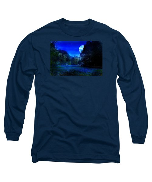 Dawn At Night Long Sleeve T-Shirt