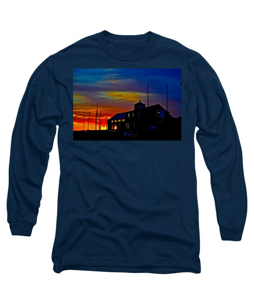 Dawn At The Boatbuilder  Long Sleeve T-Shirt