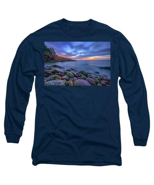 Dawn In Monument Cove Long Sleeve T-Shirt by Rick Berk
