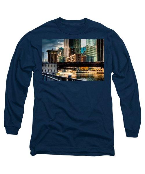 Dearborn Bridge Long Sleeve T-Shirt