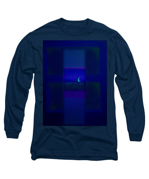 Deep Blue Sea Long Sleeve T-Shirt by Charles Stuart
