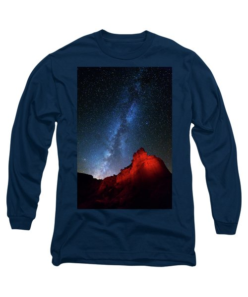 Deep In The Heart Of Texas - 1 Long Sleeve T-Shirt by Stephen Stookey