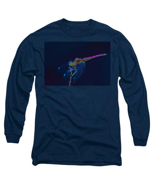 Deep Ocean Dragon Long Sleeve T-Shirt by Richard Patmore