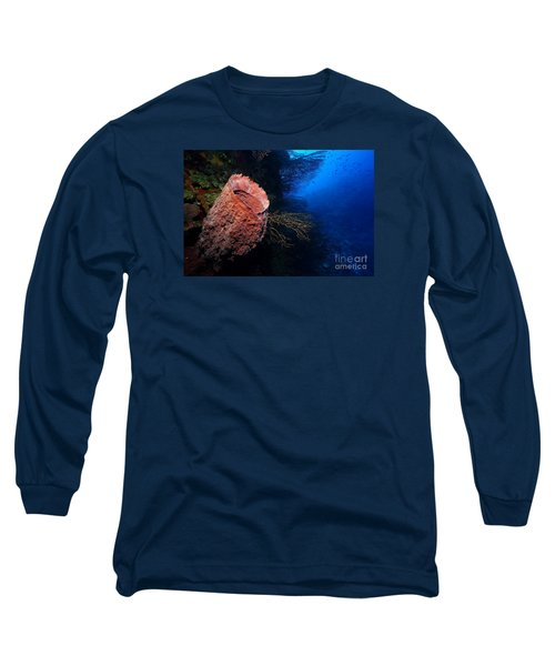 Deep Reef Long Sleeve T-Shirt by Aaron Whittemore