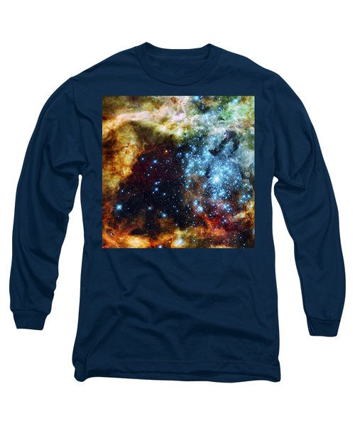 Deep Space Fire And Ice 2 Long Sleeve T-Shirt