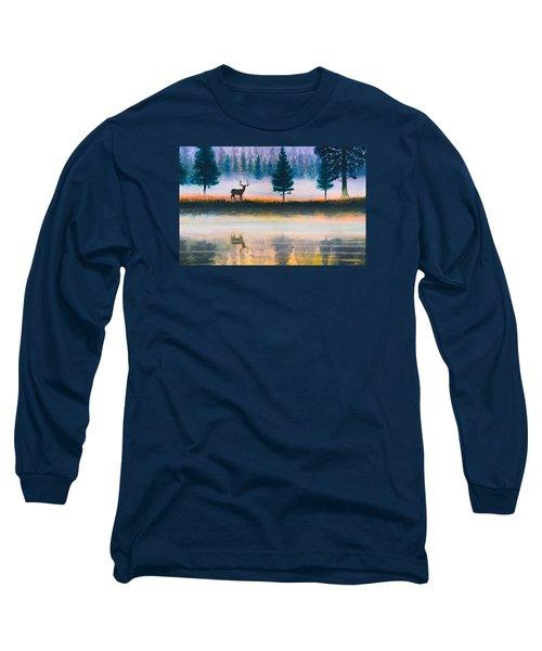 Deer Morning Long Sleeve T-Shirt