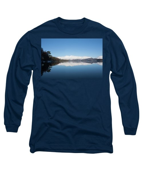 Derwentwater Winter Reflection Long Sleeve T-Shirt