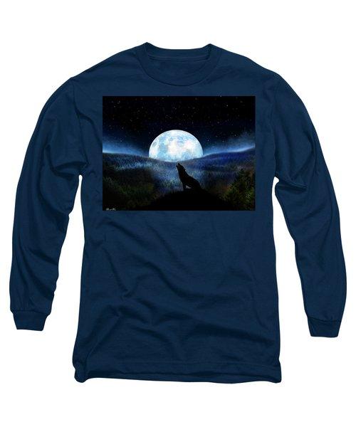 Path Of Destiny Long Sleeve T-Shirt by Bernd Hau