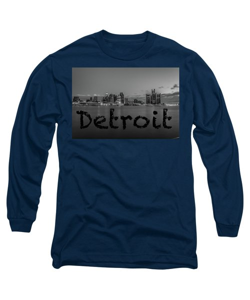 Detroit City  Long Sleeve T-Shirt