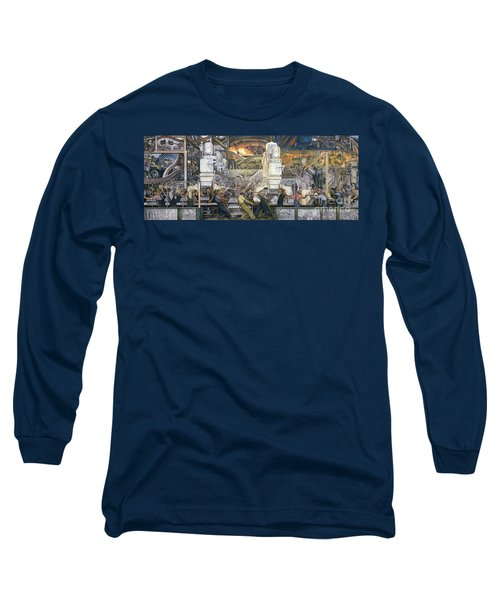 Detroit Industry   North Wall Long Sleeve T-Shirt