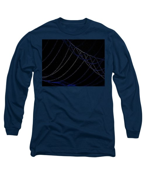 Long Sleeve T-Shirt featuring the photograph Dew Drops by John Glass