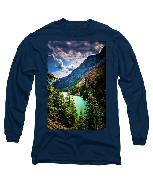 Diablo Lake Long Sleeve T-Shirt