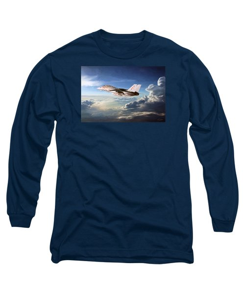 Diamonds In The Sky Long Sleeve T-Shirt by Peter Chilelli
