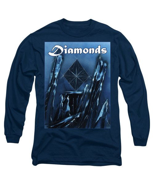 Diamonds Suit Long Sleeve T-Shirt
