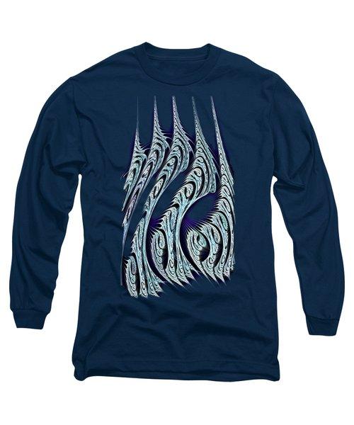 Digital Carvings Long Sleeve T-Shirt