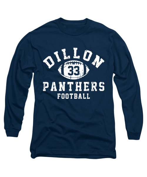 Dillon Panthers Football Long Sleeve T-Shirt by Pendi Kere