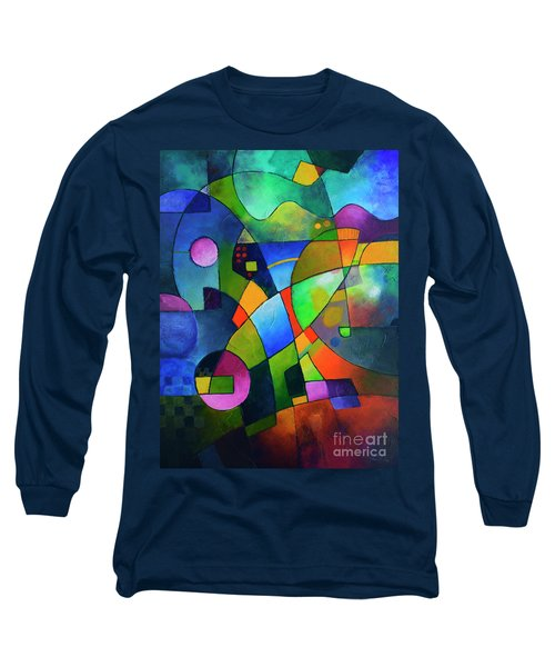 Direction North Long Sleeve T-Shirt