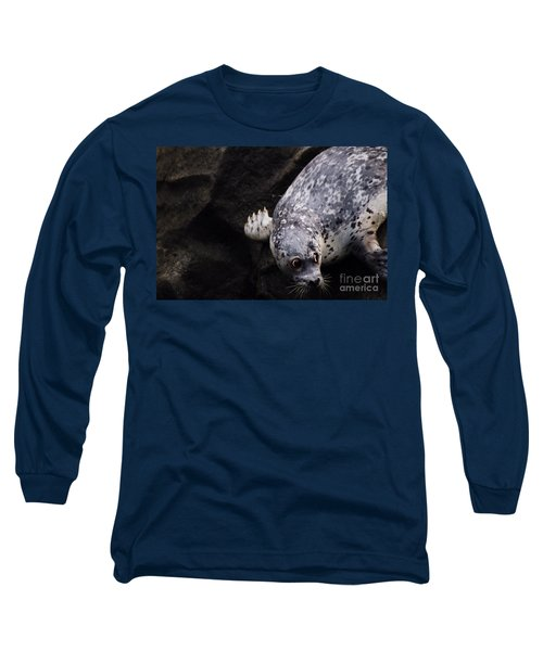 Long Sleeve T-Shirt featuring the photograph Diving In Head First by Nick Gustafson