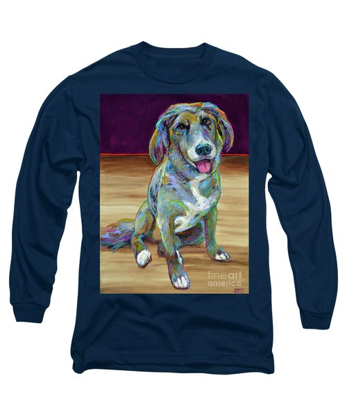 Long Sleeve T-Shirt featuring the painting Doc by Robert Phelps