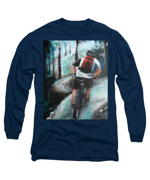 Dodging Trees Long Sleeve T-Shirt