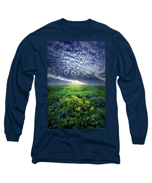 Long Sleeve T-Shirt featuring the photograph Don't Live Too Fast by Phil Koch