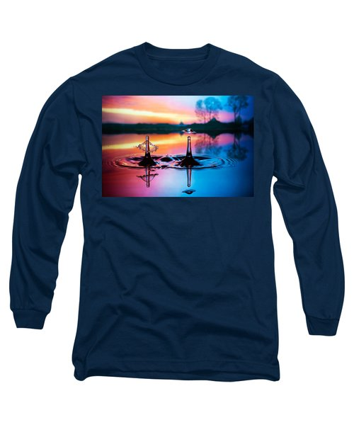 Double Liquid Art Long Sleeve T-Shirt
