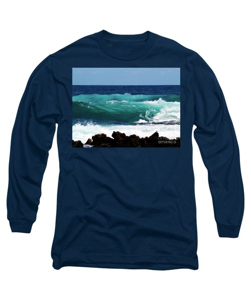 Double Waves Long Sleeve T-Shirt
