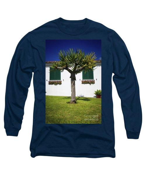 Dragon Tree Garden House Long Sleeve T-Shirt