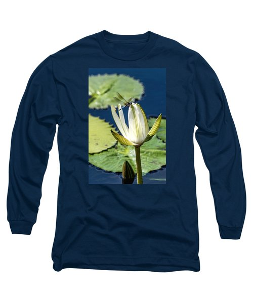Dragonfly Long Sleeve T-Shirt by Susi Stroud