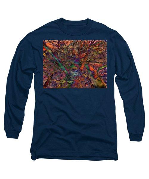 Long Sleeve T-Shirt featuring the digital art Dreamers by Robert Orinski
