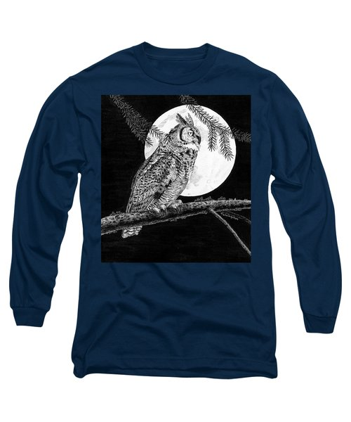 Dreaming Of The Night Long Sleeve T-Shirt