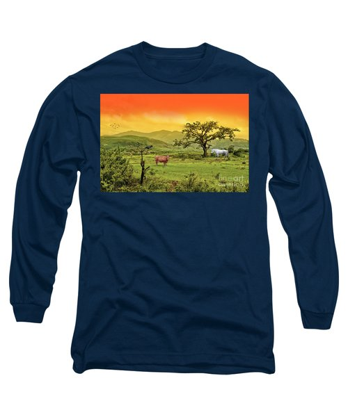 Long Sleeve T-Shirt featuring the photograph Dreamland by Charuhas Images