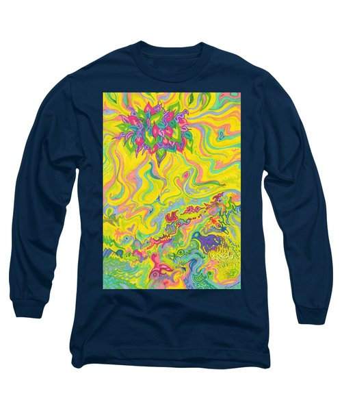 Dreamscaped Swamp-garden 1 Long Sleeve T-Shirt
