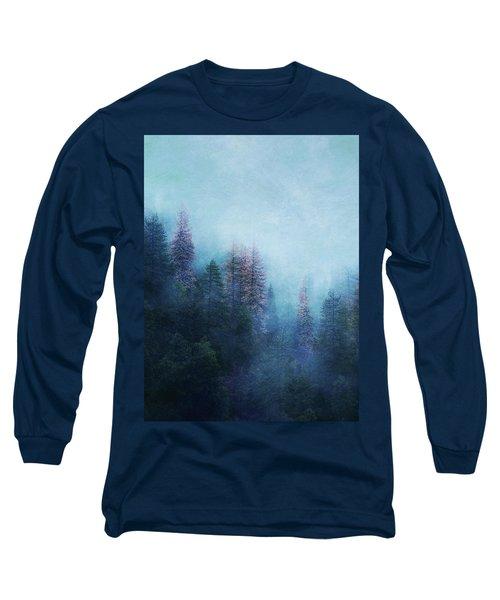 Dreamy Winter Forest Long Sleeve T-Shirt