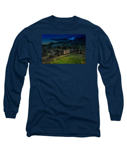 Drifting Down To Antonitio Long Sleeve T-Shirt by J Griff Griffin