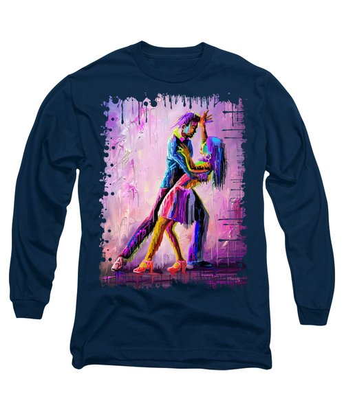Dripping Dance Long Sleeve T-Shirt