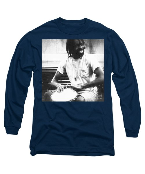 Drummer Long Sleeve T-Shirt
