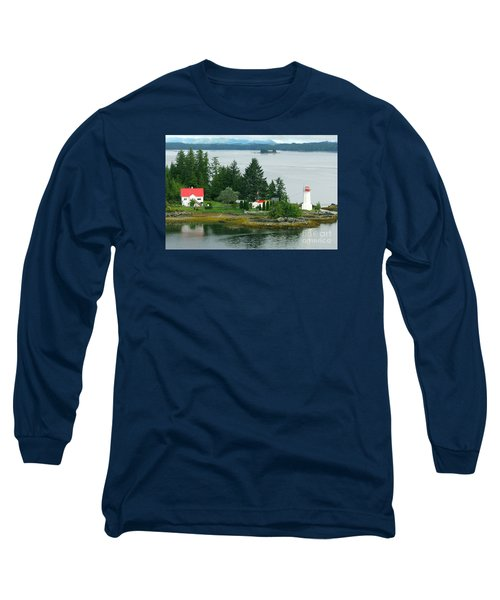 Dryad Point Lighthouse Long Sleeve T-Shirt