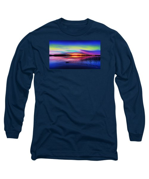 Duck Sunset Long Sleeve T-Shirt