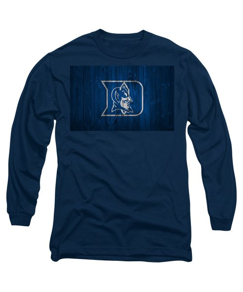 Duke Blue Devils Barn Door Long Sleeve T-Shirt