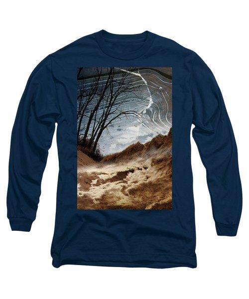 Dunes Long Sleeve T-Shirt by Joan Ladendorf