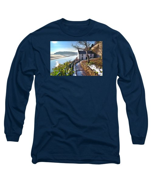 Dylan Thomas Boathouse 1 Long Sleeve T-Shirt