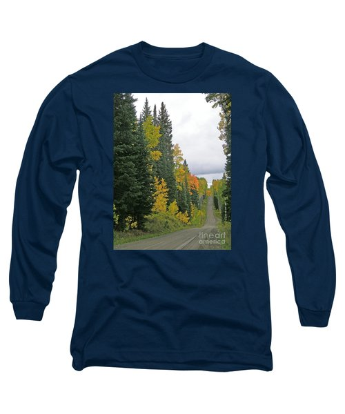 Early Fall Color Display In Colorado Long Sleeve T-Shirt