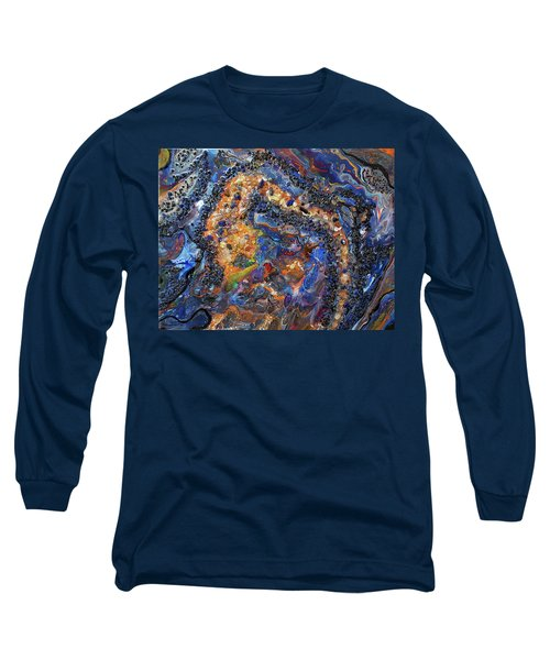 Earth Gems #18w01 Long Sleeve T-Shirt