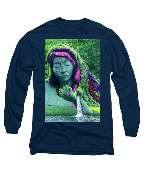 Earth Goddess Long Sleeve T-Shirt