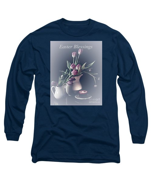 Easter Blessings No. 3 Long Sleeve T-Shirt by Sherry Hallemeier