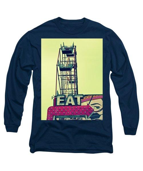 Eat Sign Long Sleeve T-Shirt