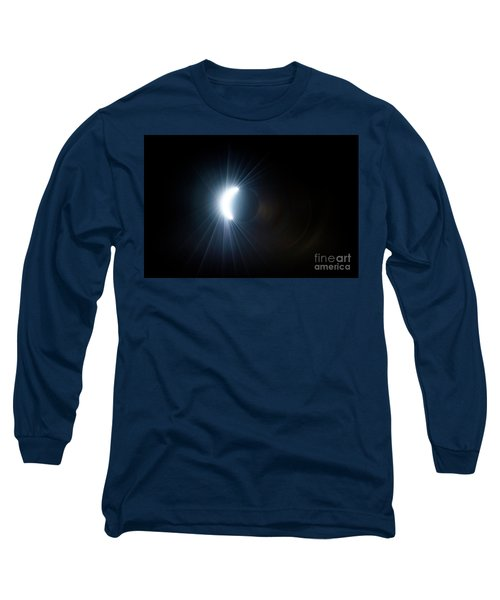 Eclipse Before Totality Long Sleeve T-Shirt