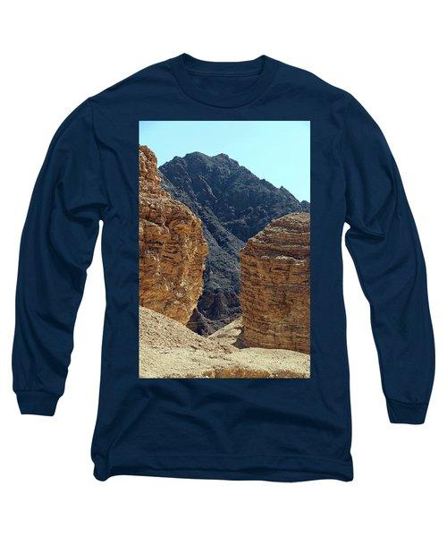 Eilat-israel Long Sleeve T-Shirt by Denise Moore